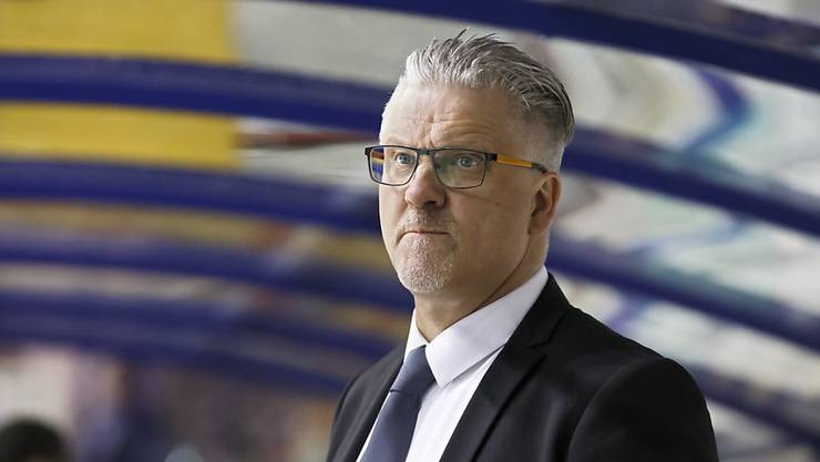 Trainer Per Hanberg, in der Vorsaison in der Swiss League Meister mit Langenthal, nun Leader mit Kloten