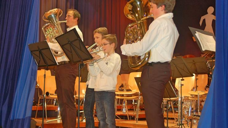 Musikschüler von Markus Hauenstein.