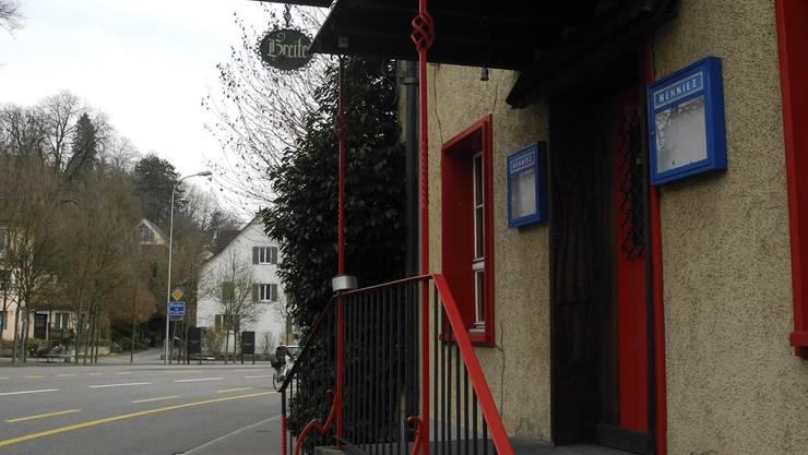 Der Eingang des Restaurants wird für immer geschlossen bleiben.dvi