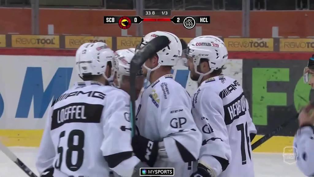 Der SCB verliert gegen Lugano mit 1:4