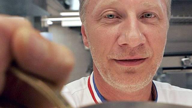 Kocht in der Pariser U-Bahn: Meisterkoch Eric Fréchon