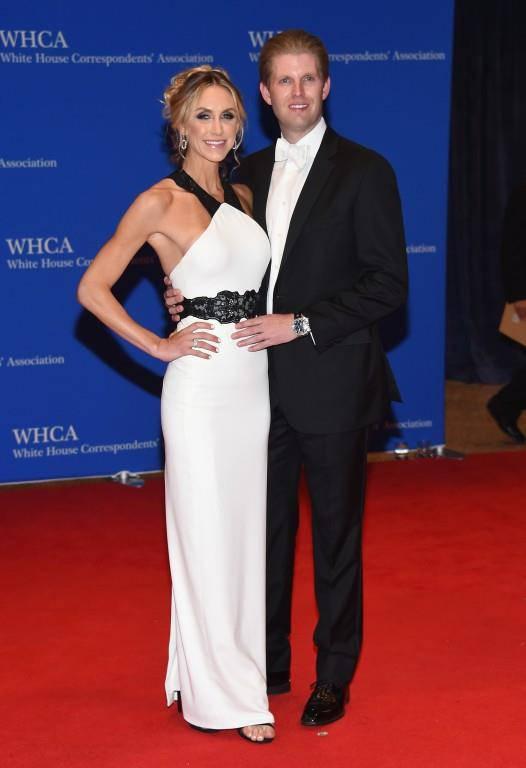 Lara Yunaska und Eric Trump