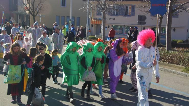 Die vielen lustigen und farbenfrohen Kostüme konnten auf dem Umzug gut bestaunt werde.