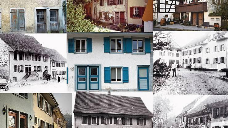 In Endingen und Lengnau sind noch heute zahlreiche Doppeltüren zu finden.