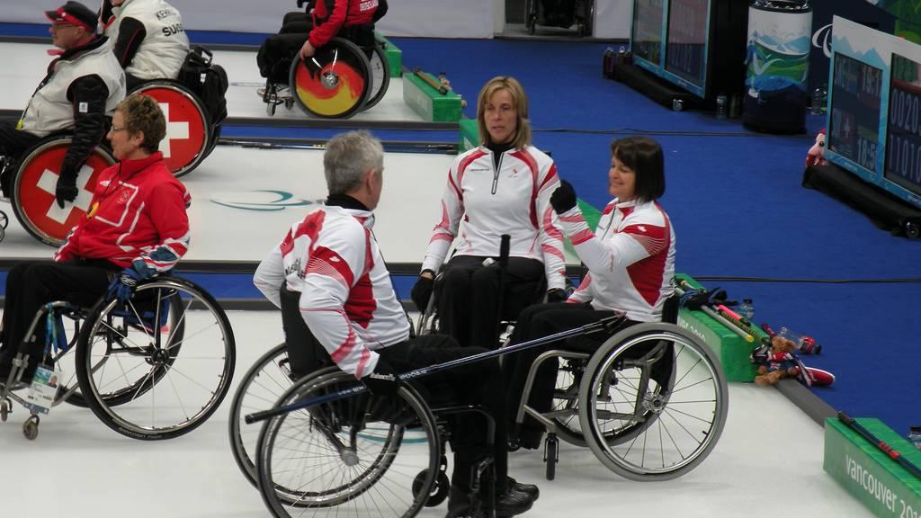Rollstuhlcurling-Meisterschaften in Luzern