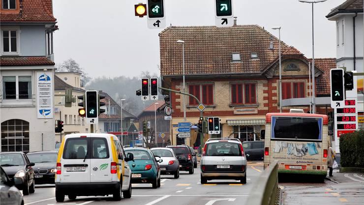 Der Knoten Kreuzplatz Derendingen soll im Rahmen des Agglomerationsprogramms umgestaltet werden.