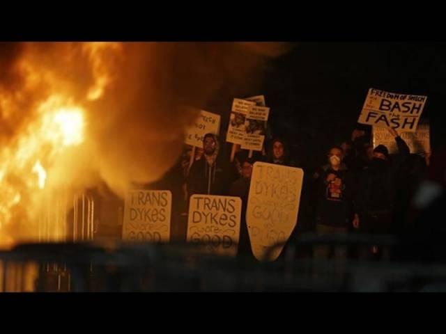 So berichtete der Nachrichtensender ABC News über die gewaltsamen Proteste auf dem Campus der Universität Berkeley