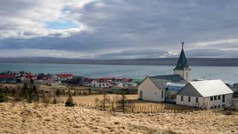 Hvammstangi im norden Islands: Die idyllische Insel hat kaum noch Coronainfektionen.
