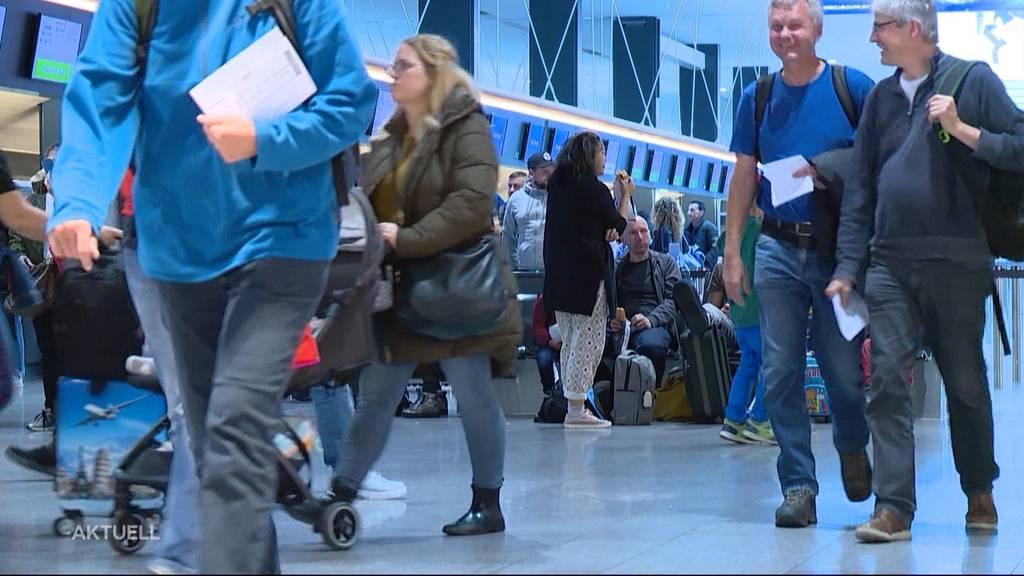 Trotz Klimadebatte: 114'000 Passagiere am Flughafen Zürich