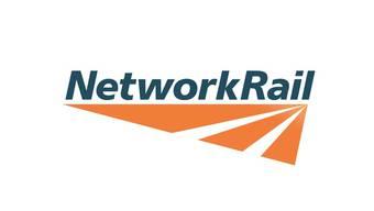 Das Logo der Network Rail aus England