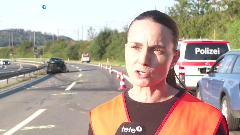 Schwerer Unfall auf Autobahn A4