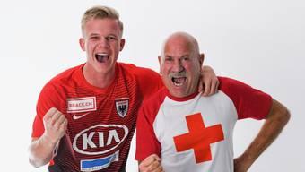 Der FCA und das Schweizerische Rote Kreuz Kanton Aargau sind seit Längerem Partner