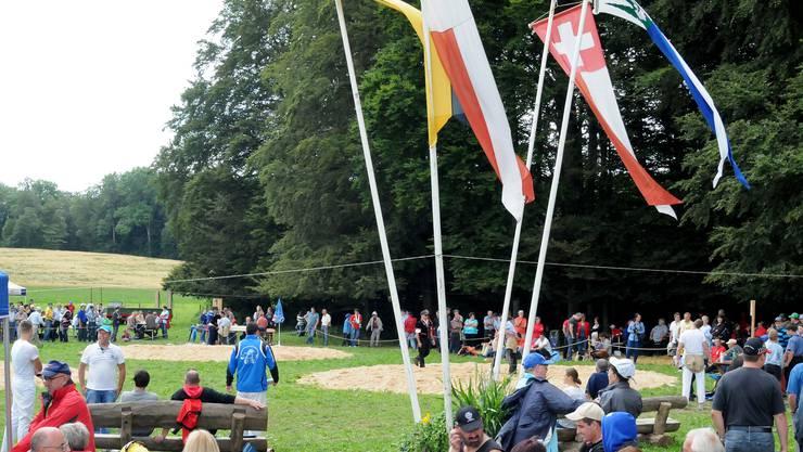 Der Engelberg-Schwinget ist bei den Fans wegen der idyllischen Lage beliebt.