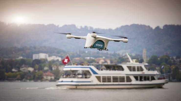 Transport-Drohne von Matternet