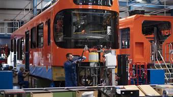 Im Werk in Bussnang werden bald auch Züge für Kanada produziert. (Archivbild)