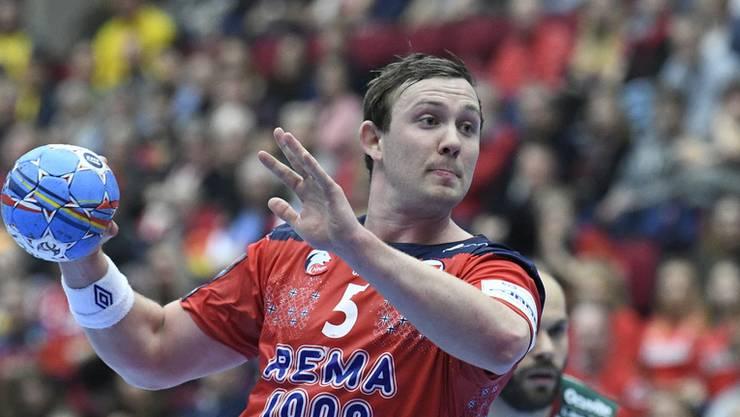 Sander Sagosen und Norwegen stehen mit einem Bein im Halbfinale