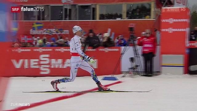 Entäuschung für Dario Cologna an der nordischen Ski-WM