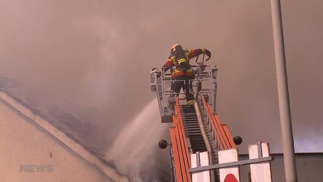 Brand in Obergösgen durch Elektro-Defekt verursacht
