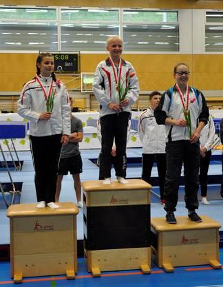 Maja Frey auf dem dritten Platz