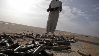 Wie gelangten die Patronen von Katar nach Libyen? (Symbolbild)