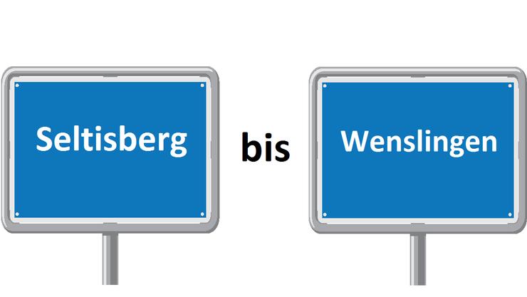 Seltisberg bis Wenslingen