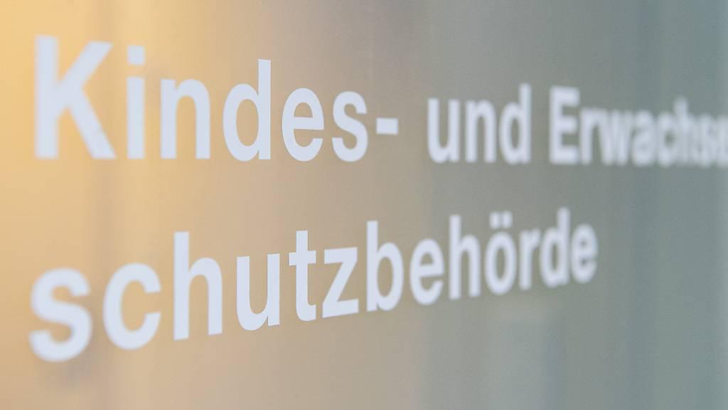Ein Schriftzug der Kindes- und Erwachsenenschutzbehörde (Kesb) der Stadt Zürich. (Archivbild)