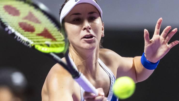Belinda Bencic belohnte sich für ihren Kampfgeist mit dem ersten Sieg an den WTA Finals