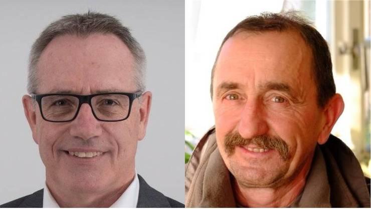 Franz Vogt (rechts) und Werner Müller sitzen neu im Grossen Rat.
