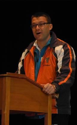 Verbandspräsident Baumann.