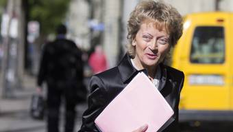 Eveline Widmer-Schlumpfs Departement krebst zurück.