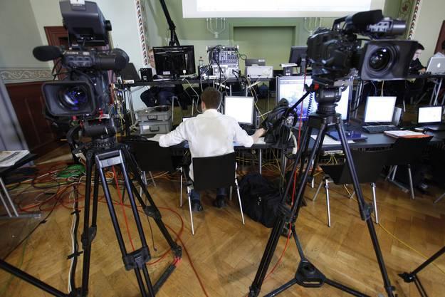 Im Konzertsaal ist am Wahlsonntag Platz für Medien