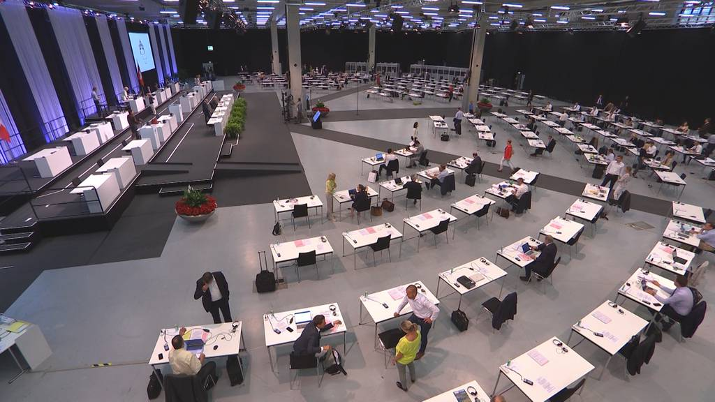 Wegen Corona: Grosser Rat tagt auf dem Expo-Gelände