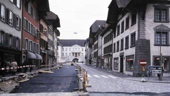 In den 1980er-Jahren wurde die Vordere Altstadt letztmals im grossen Stil saniert