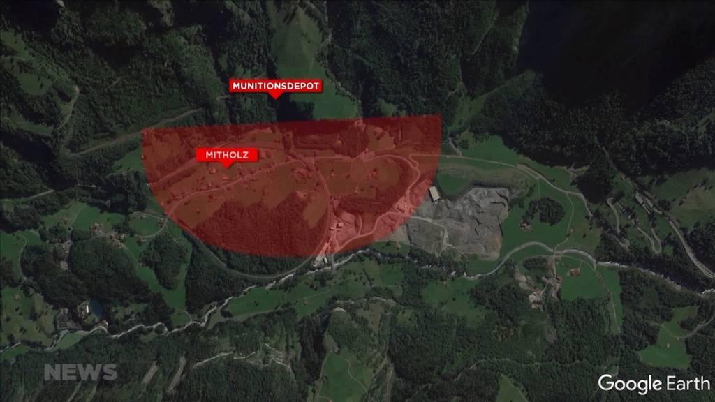 BAFU bestätigt nicht tragbares Risiko für Bevölkerung von Mitholz