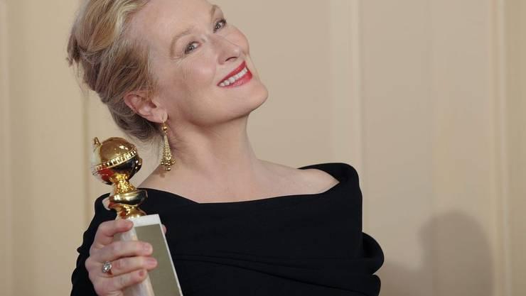 Meryl Streep an den Golden Globes