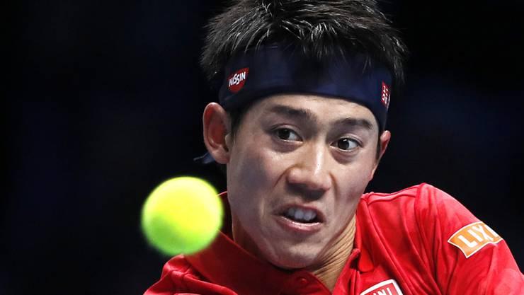 Kei Nishikori gibt sich am Masters als Minimalist: Mit nur einem Sieg erreicht er die Halbfinals