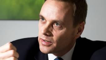 SVP-Fraktionspräsident im Grossen Rat Jean-Pierre Gallati.