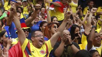 WM 2018: Impressionen vom Spiel Senegal - Kolumbien
