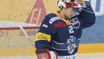 Hütete im letzten Spiel der Qualifikation mit Erfolg Zugs Tor: Fabio Haller