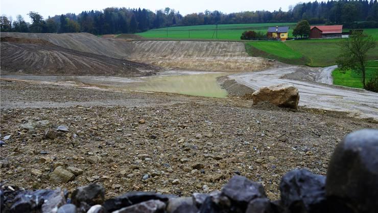 Rentabler «Dreck»: Die Deponie Babilon für sauberes Aushubmaterial hilft der Gemeindekasse.