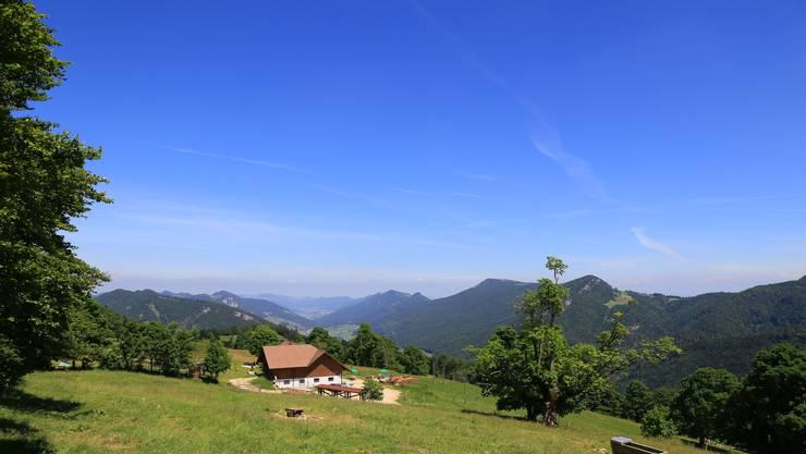 Der Berggasthof Oberdörfer