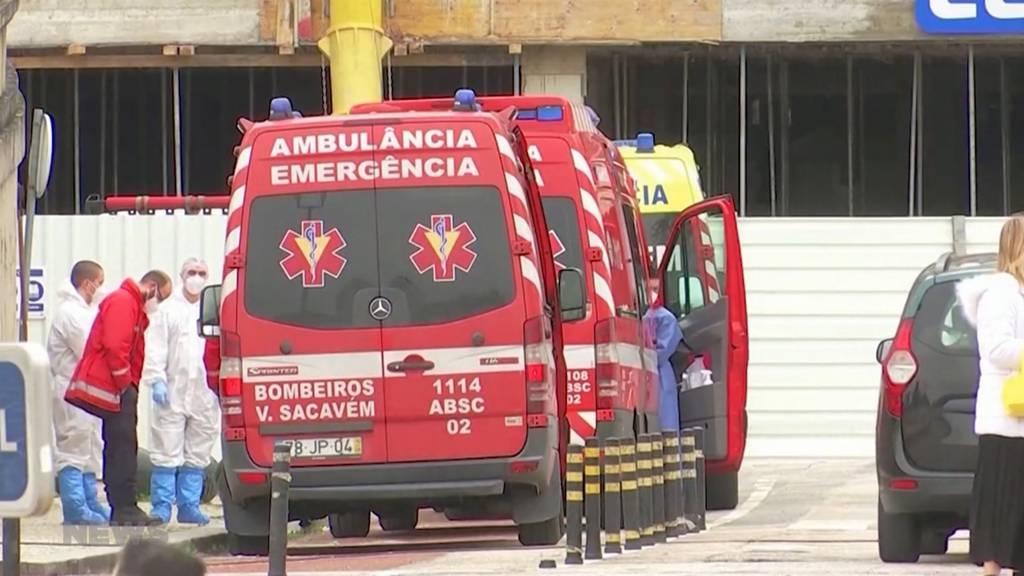 Bund will portugiesische Corona-Patienten aufnehmen