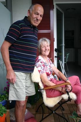 Christina Brun-Caduff, 67, pensionierte Kauffrau, seit 34 Jahren mit Gery Brun, 71, pensionierter Kaufmann und Steuerfachmann, verheiratet.