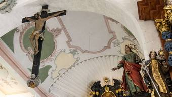 Die St. Katharinenkirche, eine der wichtigsten barocken Kirchen im Kanton Baselland, erstrahlt in neuem Glanz.