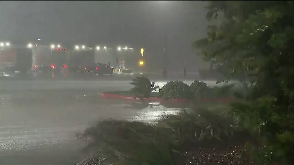 Hurrikan «Laura» trifft auf US-Südwestküste