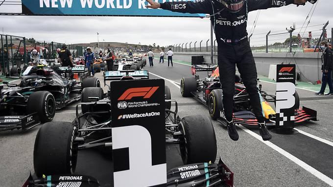 Lewis Hamilton - zum 92. Mal die Nummer 1 in einem Formel-1-Rennen