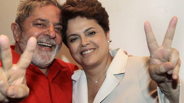 Lula mit seiner Nachfolgerin Rousseff