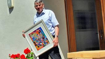 Beat Laffer räumt nach 22 Jahren das Pfarrhaus in Zetzwil. Edi