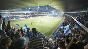 «Das wird ein Hexenkessel», sagt Gesamtprojektleiter Yves Diacon zum geplanten Hardturmstadion. (Symbolbild)