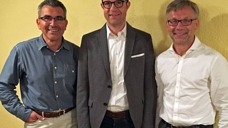 Valentino Benvenutti, Gabriel Lüthy, Ruedi Peterhans.